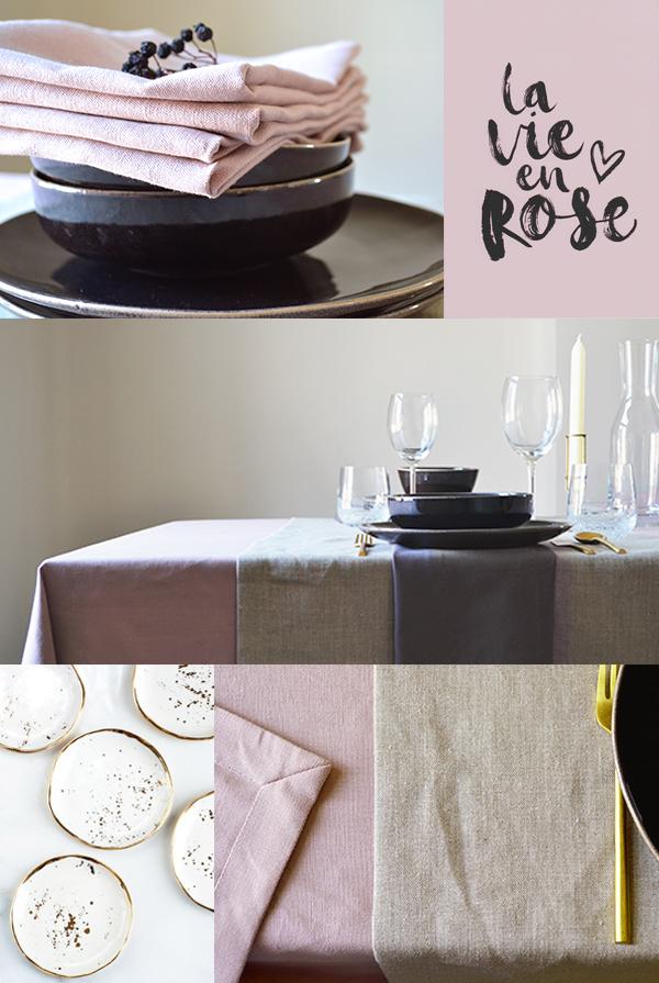 We love linen - Old rose interior trend 2018