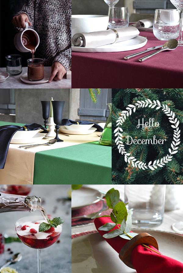 Cottona Christmas table 2018