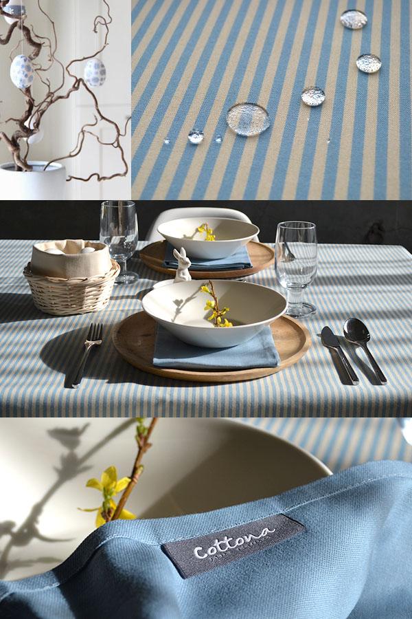 Scandinavian Easter table