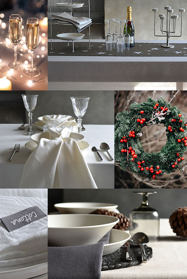 Christmas table styling 2020